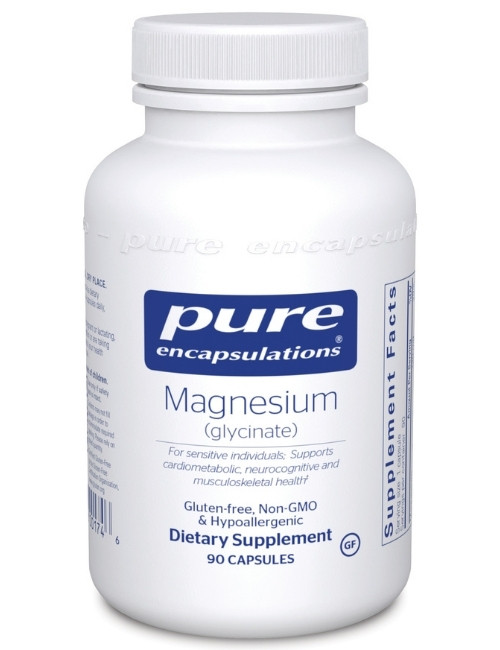 Magnesium Glycinate 120 mg, 90 vcaps