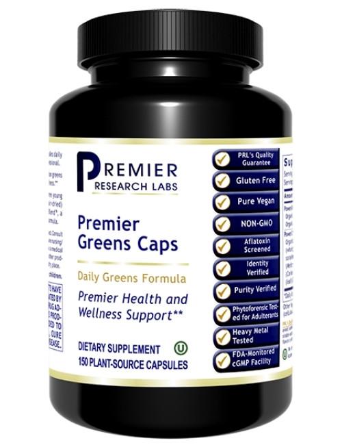 Premier Greens Caps, 150 Vcaps