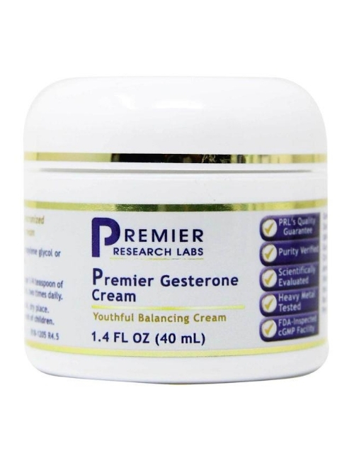 Premier Gesterone Cream, 1.4 oz.