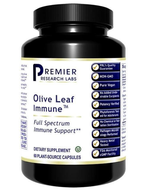 Olive Leaf Immune, 60 Vcaps