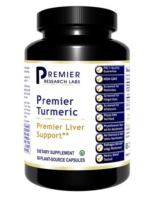 Premier Turmeric, 60 Vaps