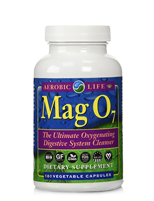 Aerobic Life Mag O7 Oxygen Cleanse, 180 Vcaps