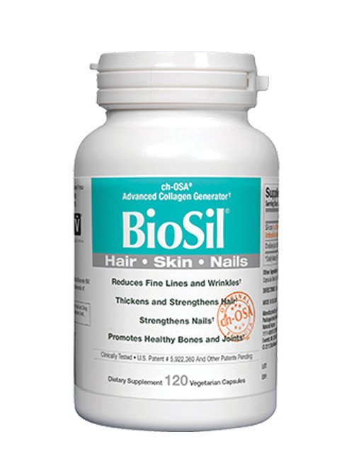 BioSil Skin, Hair, Nails, 120 Vcaps