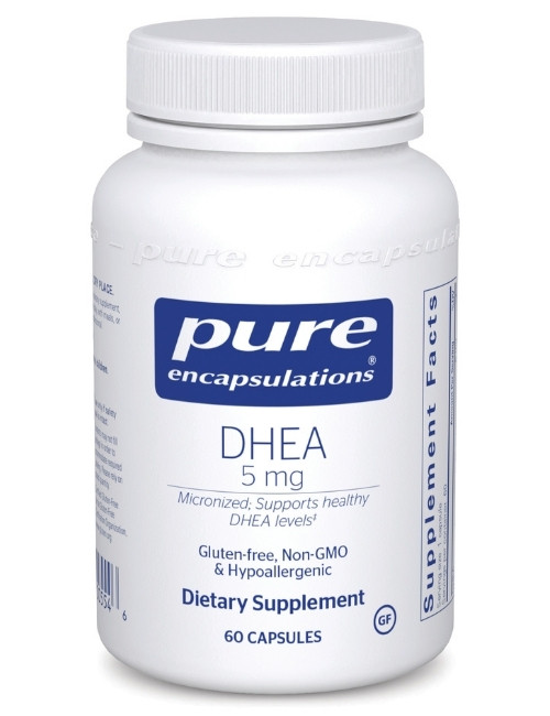DHEA (micronized) 5 mg, 60 Vcaps