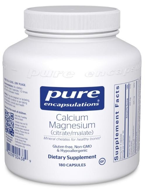 Calcium Magnesium (citrate/malate), 180 Vcaps