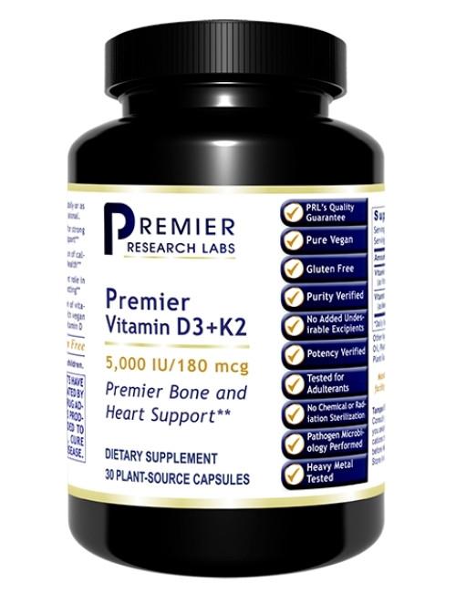 Premier Vitamin D3 + K2