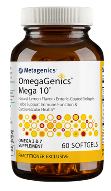 OmegaGenics® Mega 10®, 60 gels