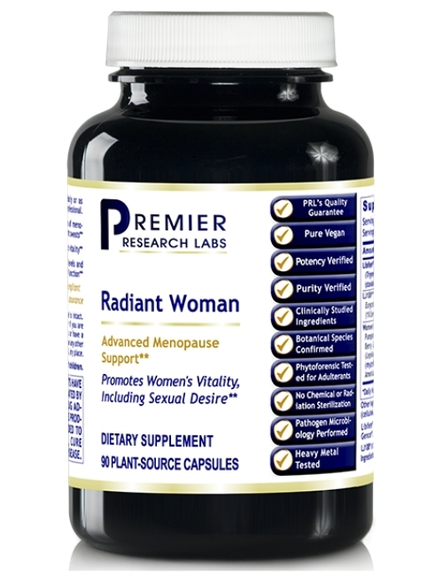 Radiant Woman, 90 Vegetarian Capsules