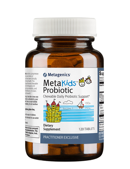 MetaKids™ Probiotic, Chewable, 60 or 120 tablets