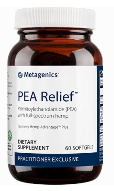 PEA Relief™ 60 softgels (Formerly Hemp Advantage Plus)