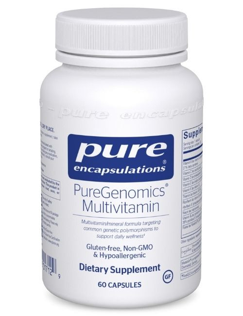 PureGenomics Multivitamin, 60 vcaps