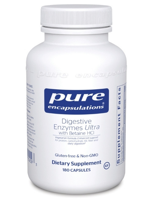 Digestive Enzymes Ultra w/ HCL, 180 caps