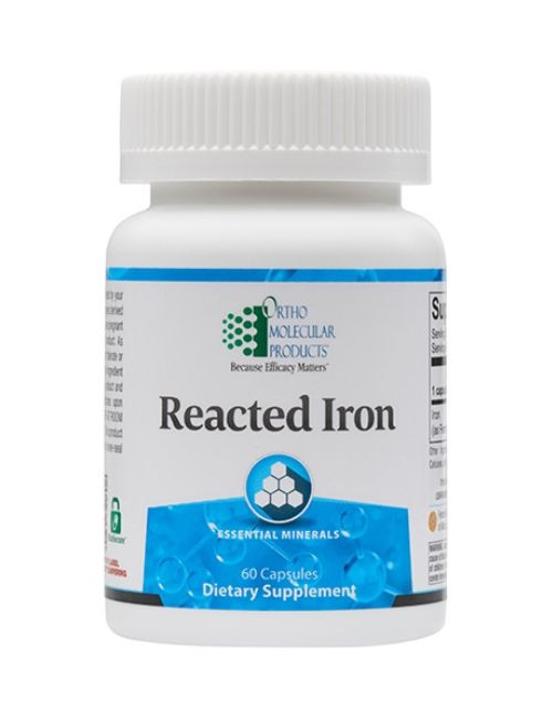 Reacted Iron, 60 caps
