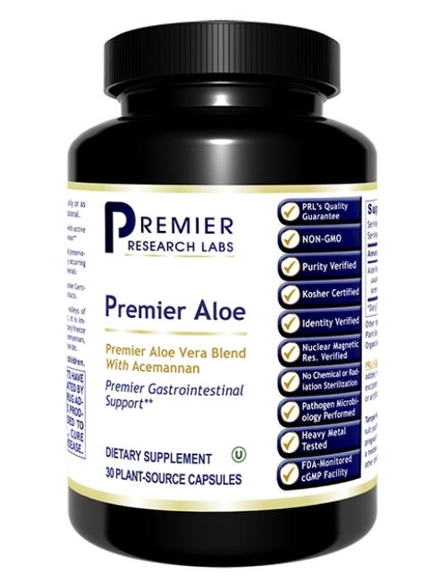 Premier Aloe, 30 vcaps