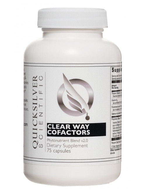 Clear Way Cofactors,® 75 caps