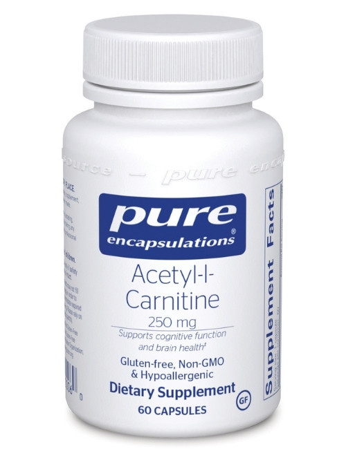 Acetyl-L-Carnitine 250 mg, 60 vcaps