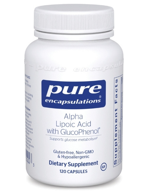 Alpha Lipoic Acid with GlucoPhen, 120 vcaps