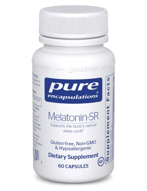 Melatonin-SR, 60 vcaps