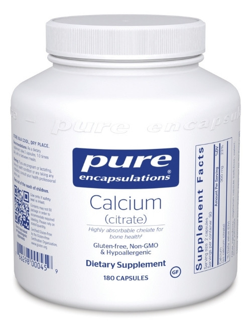 Calcium Citrate 150 mg, 180 vcaps