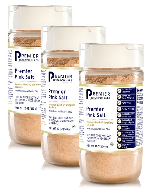 Premier Pink Salt, 12 oz, Pack of 3