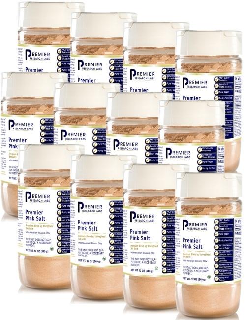 Premier Pink Salt, 12 oz, Case of 12