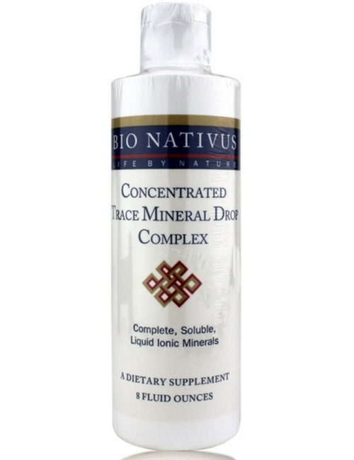 Concentrated Trace Mineral Drop Complex, 8 oz