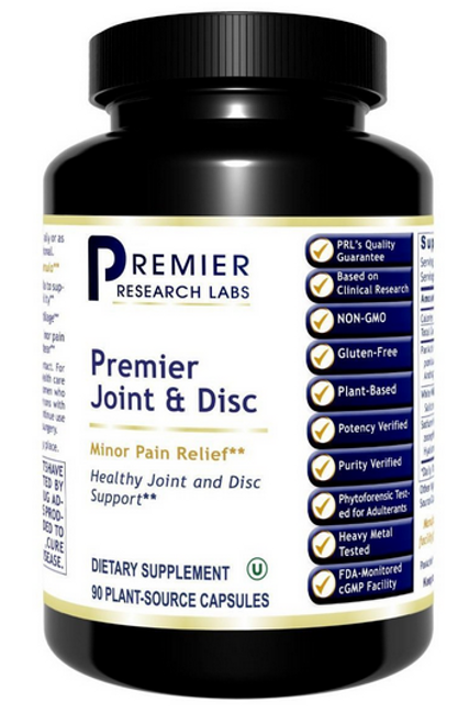 Premier Joint and Disc, 90 Vcaps, Premier Research Labs