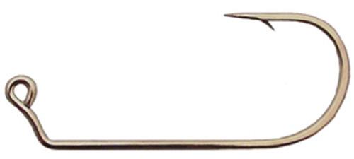 Mustad Wide Bend Jig Hooks 60 degree Black Nickel 100 count 32786-BN