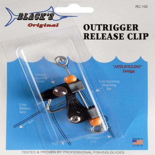 Black Marine RC100 Outrigger Clip