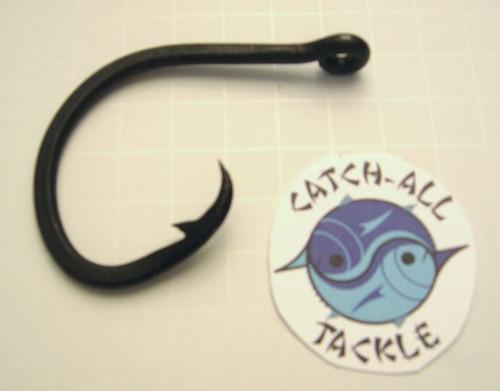 LP Carbon Steel 16/0 Black Circle Hook - 10 pack