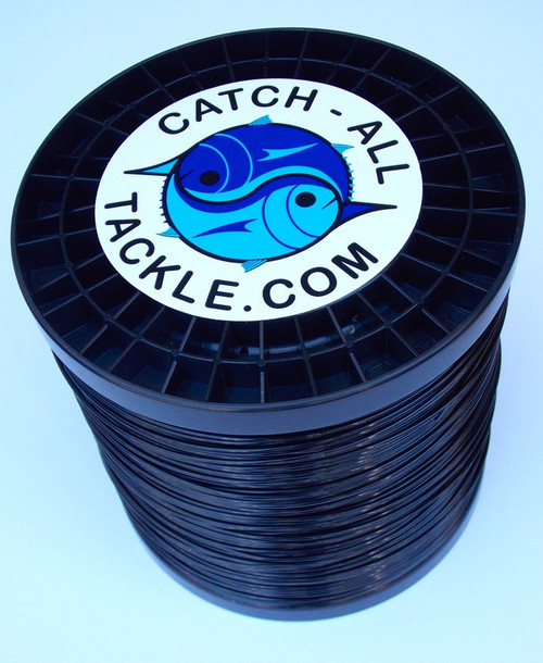 Black Monofilament Leader 5 lb Spool available 1.6mm-2.5mm