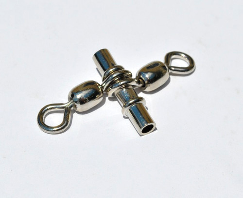 "Doubles Sleeve Swivels10pcs -1/8""(3.3mm) ID  spreader bar size 3/0"