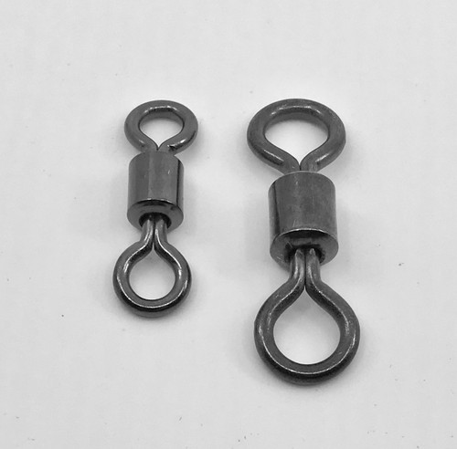 Premium Roller  Swivels  Black nickel finish