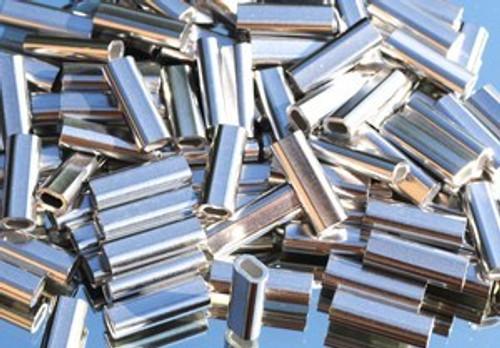 Crimps Aluminum Double Oval  Bag of 1,000 1.5mm-3.5mm
