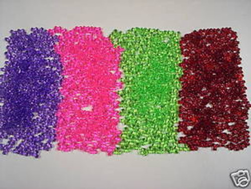 Tri bead kit set of 200pcs each blue, lime,ruby,purple