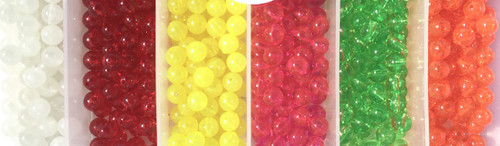 CatchAllTackle.com 8mm Fishing beads Pack of 100