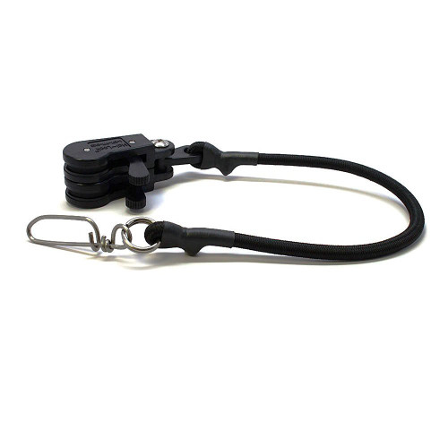 Hal-Lock Double Outrigger Pulley - Black - 12-Inch,  HL2-12 BLK