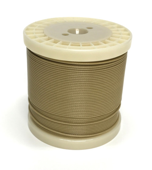 CatchAllTackle.com Sand Tone 49 Strand Stainless Steel Cable