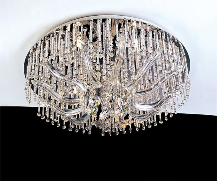 CG Zimmer Flush-mount Ceiling Chandelier 14""