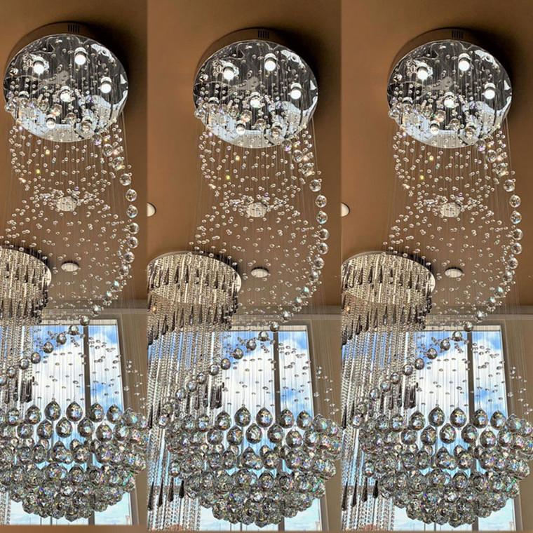 CG E-Series  Lacrima Chandelier