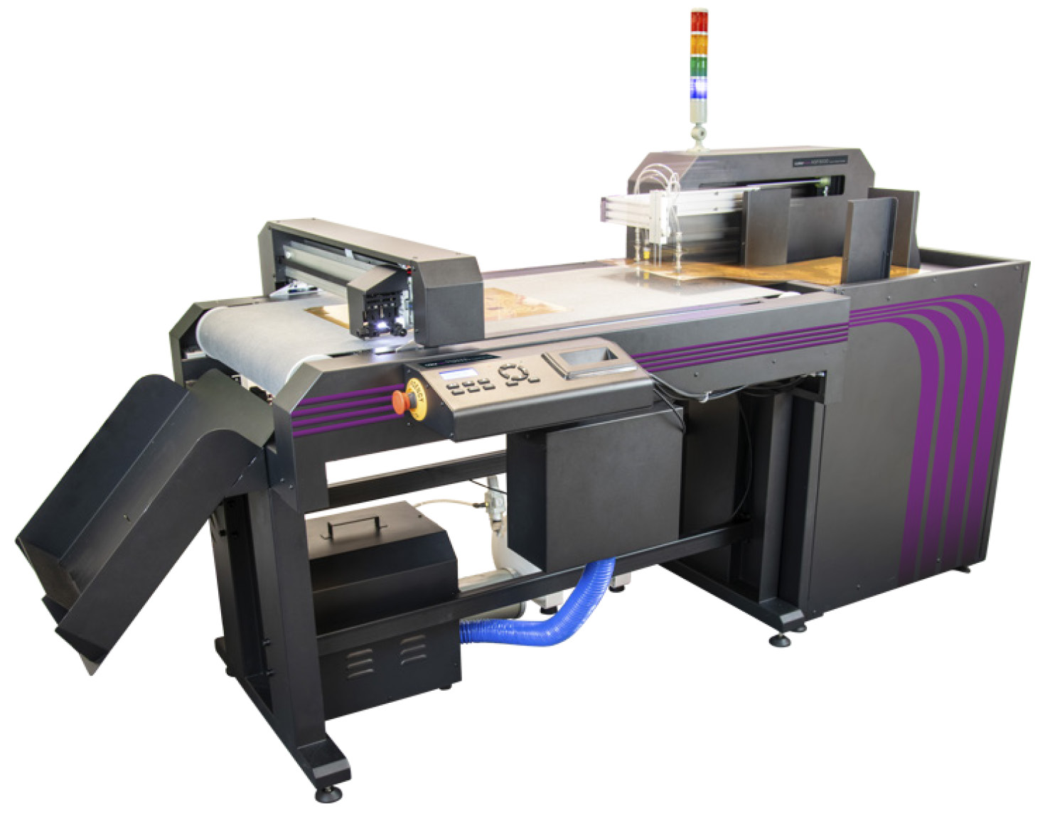 Cutting and creasing machine