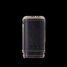 Xikar Envoy Triple Cigar Case Black