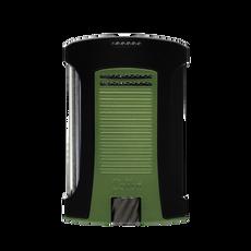 Colibri Daytona Single Lighter Black & Green