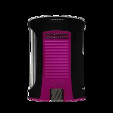 Colibri Daytona Single Lighter Black & Pink