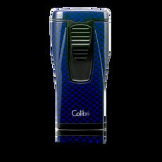 Colibri Monaco Triple Lighter Blue Carbon Fiber