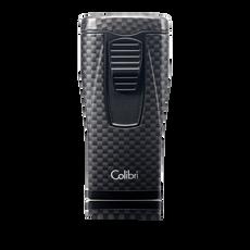 Colibri Monaco Triple Lighter Black Carbon Fiber