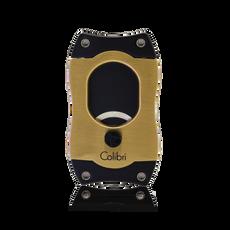 Colibri S-Cut Cigar Cutter Gold & Black Blades