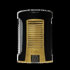 Colibri Daytona Single Lighter Black & Gold