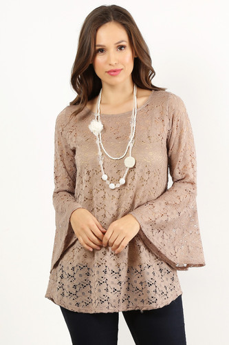 Lace Belle Sleeve Overlay