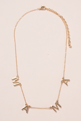 MAMA Letter Necklace